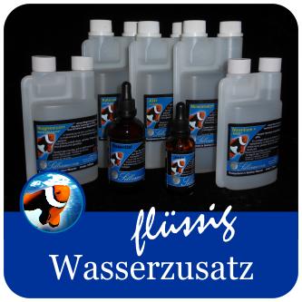 Wasserzusatz flüssig